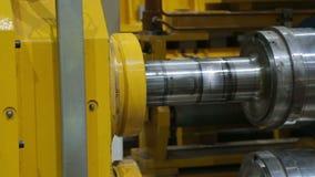 Metal stacza się przerobową linię przy fabryką zbiory wideo