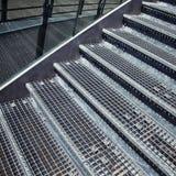 Metal stair detail Stock Image