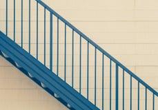 Metal stair Stock Photo