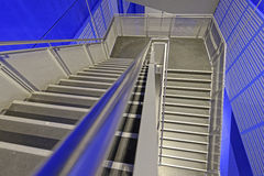 Metal staircase Stock Photos