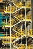 Metal staircase. Stock Photo