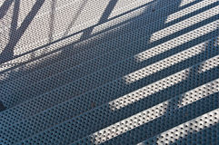 Metal stairs Stock Images