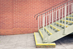Metal stairs Stock Image
