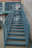 Metal stairs Royalty Free Stock Image