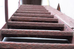 Metal stairs Royalty Free Stock Photo
