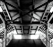 Metal stairs Royalty Free Stock Photos