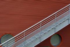 Metal stairway Royalty Free Stock Photos