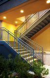 Metal Stairway Royalty Free Stock Photography