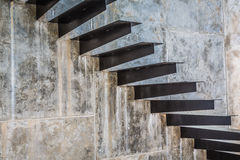 Metal Stairway Royalty Free Stock Images