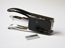 Metal Stapler with Staple Royalty Free Stock Photography