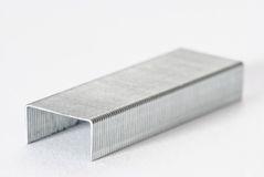 Metal Staples Royalty Free Stock Photography