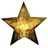 Metal star Stock Image