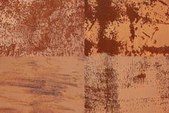 Metal stara tekstura obrazy stock