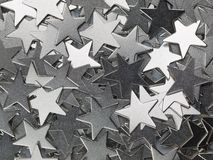 Metal stars Stock Photography