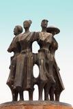 Metal statua Fotografia Stock