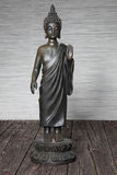 Metal statuette of Buddha Stock Photography