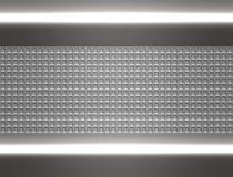 Metal steel or aluminium plate Stock Image