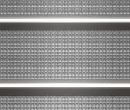 Metal steel or aluminium plate Stock Image