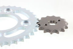 Metal steel gears Stock Photos