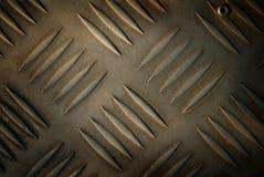Metal steel plate. Royalty Free Stock Image