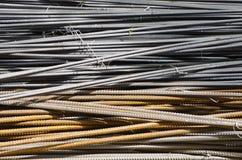 Metal steel rods Stock Photos