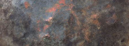 Free Metal Steel Sheet Background Texture, Partially Rusty, Banner Stock Photography - 138028832