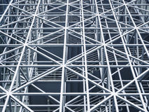 Metal steel Structure Modern building. Metal steel Structure Architecture detail Modern design triangle Royalty Free Stock Photo