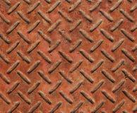 Metal step. Close-up of metal step stock image
