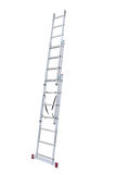 Metal step-ladder Stock Photo