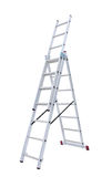 Metal step-ladder Royalty Free Stock Images