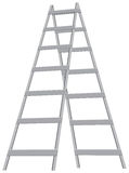 Metal stepladder Stock Photos