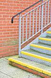 Metal steps Royalty Free Stock Images