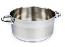 Metal stock pot Stock Images