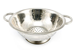 Metal strainer Royalty Free Stock Photos