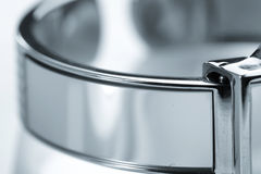Metal strap of watch Stock Image