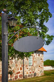 Metal street sign Royalty Free Stock Photography