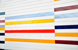 Metal striped background Royalty Free Stock Photography