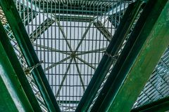 Metal Structure Abstract Royalty Free Stock Images