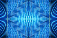 Metal structure in blue light Stock Photo