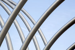 Metal Structure on Motorway Royalty Free Stock Photo