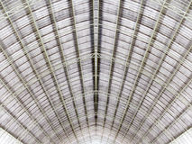 Metal structure roof architecture. Metal structure of roof architecture stock photos