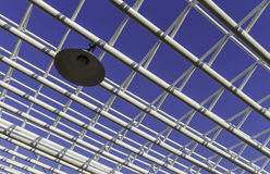 Metal structure roof Royalty Free Stock Images