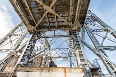 Metal struktura Obrazy Stock