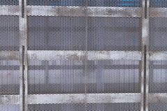 Metal struktura siatka i bary Zdjęcia Royalty Free