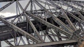 Metal struktury Quebec most zdjęcie stock