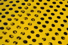 Metal sufrace withe holes Royalty Free Stock Photos