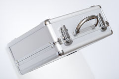 Metal suitcase Stock Photo