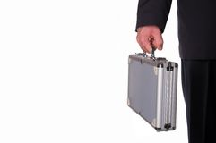 Metal suitcase Royalty Free Stock Photo