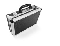 Metal suitcase Royalty Free Stock Photos
