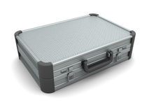 Metal suitcase Royalty Free Stock Photography
